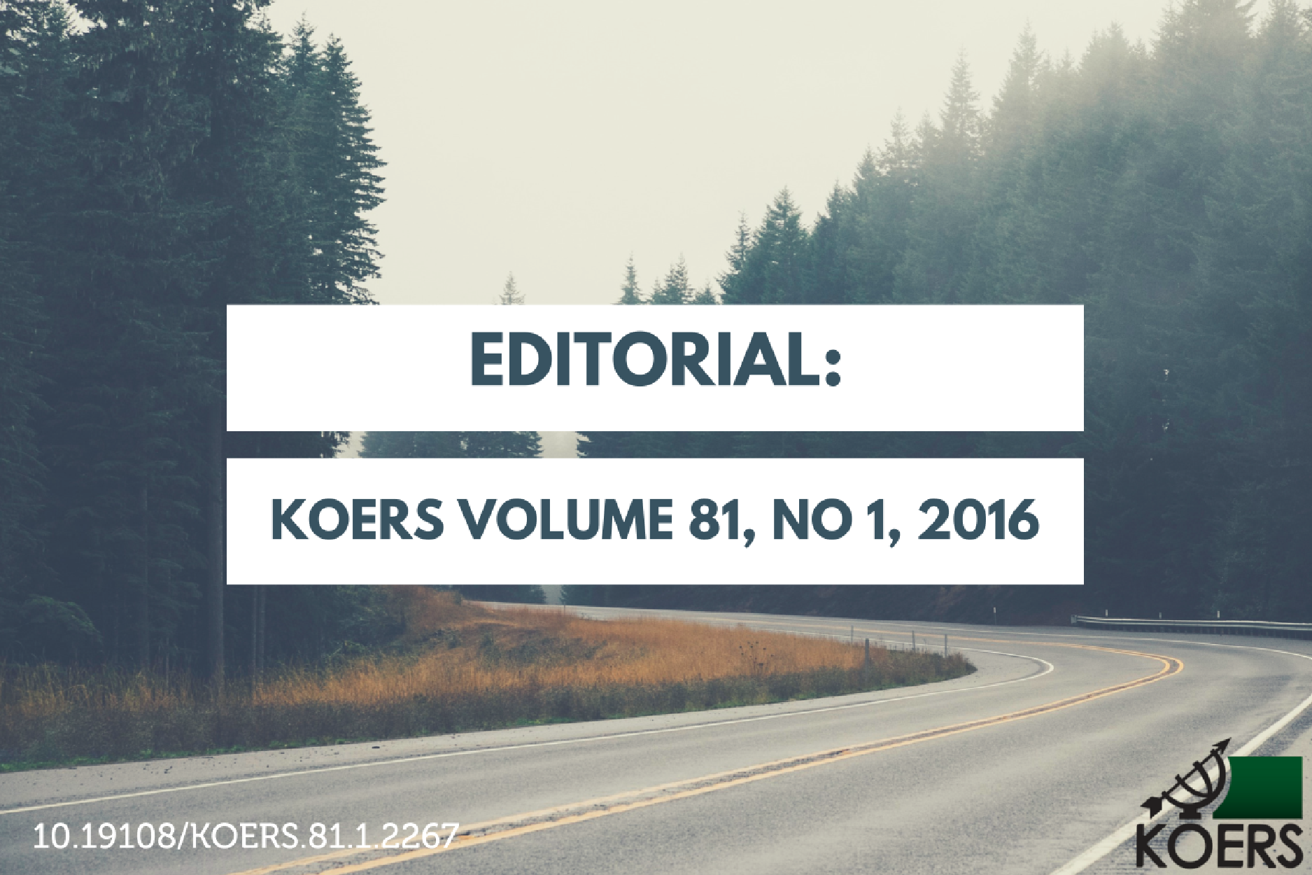 Koers Editorial - Prof Annette Combrink