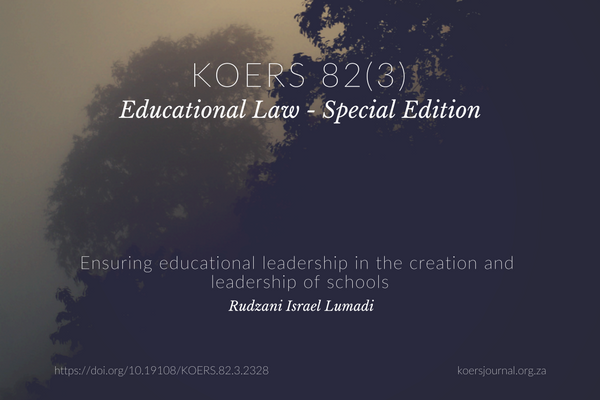 Ensuring Educational Leadership in the Creation and Leadership of Schools